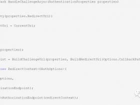 asp.net core 外部认证多站点模式实现
