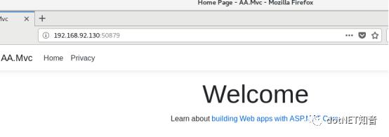 .NET Core 3.0 部署在docker上运行